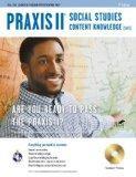 Praxis II Social Studies Content Knowledge (0081) w/CD-ROM (PRAXIS Teacher Certification Tes...