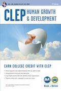 CLEP Human Growth & Development Book + Online (CLEP Test Preparation)