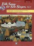 Folk Songs for Solo Singers: Medium High Voice, Volume 2 (Book & CD)