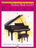 Alfred's Basic Piano Library Piano Course, Technic Book Level 4