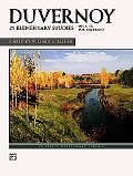 Duvernoy -- 25 Elementary Studies, Op. 176
