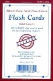 Adult Flash Cards Level 1 (Alfred's Basic Adult Piano Course)