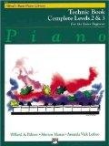 Alfred's Basic Piano Course: Technic Book Complete Levels 2 & 3 for the Later Beginner (Alfr...
