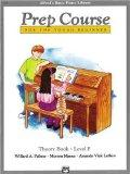 Prep Course for the Young Beginner: Theory Book Level F (Alfred's Basic Piano Library)