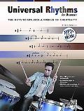 Universal Rhythms for Drummers: The Keys to Unlock a World of Creativity (Book & CD)