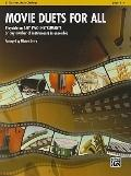 Movie Duets for All: B-Flat Clarinet, Bass Clarinet (Instrumental Ensembles for All)