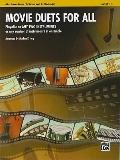 Movie Duets for All: E-Flat Alto Saxophone, E-Flat Clarinet (Instrumental Ensembles for All)