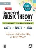 Essentials of Music Theory Software, Version 3. 0, Vol 1 : Student Version, Software