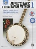 Alfred's Basic 5-String Banjo Method: The Most Popular Method for Learning How to Play (Book...