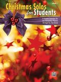Christmas for Students, Bk 1 : Graded Selections for Late Elementary Pianists