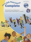 Alfred's Kid's Piano Course Complete : The Easiest Piano Method Ever!, Book, CD and DVD
