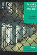 Advancing Critical Criminology Theory And Application