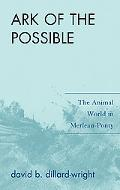 Ark of the Possible: The Animal World in Merleau-Ponty