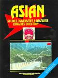 Asian Studies University and Research Libraries, Researchers and Experts Directory(USA and C...