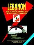 Lebanon Army, National Security And Defense Policy Handbook