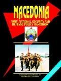 Macedonia National Security, Army And Defense Policy Handbook