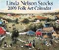 2009 Linda Nelson Stocks Folk Art Box Calendar
