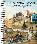 Linda Nelson Stocks Folk Art: 2009 Desk Calendar