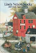 Linda Nelson Stocks Folk Art: 2009 Pocket Purse Calendar