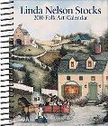 Linda Nelson Stocks Folk Art: 2010 Desk Calendar