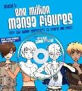 One Million Manga Characters: Over One Million Characters to Create and Color