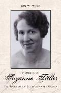 Memoirs of Suzanne Tillier: The Story of an Extraordinary Woman