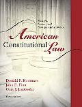 American Constitutional Law: Essays, Cases, and Comparative Notes