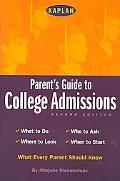 Parent's Guide to College Admissions