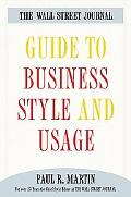 Wall Street Journal Guide to Business Style and Usage