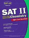 Sat II Chemistry 2003-2004