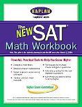 New SAT Math Workbook Kaplan Test Prep and Admissions