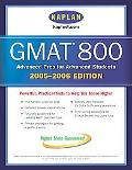 Kaplan Gmat 800, 2005-2006