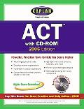Kaplan ACT 2006 with CD-ROM - Kaplan - Paperback - Includes CD-ROM