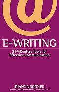 E-Writing 21St-Century Tools for Effective Communication