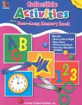 Collectible Activities for a Year Long Memory Book