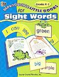 Reproducible Little Books For Sight Words Grades K-2