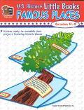 Us History Little Books Famous Places Grades K-3