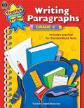 Writing Paragraphs Grade 2  Includes Practice for Standardized Tests