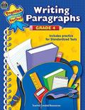 Writing Paragraphs Grade 4  Includes Practice for Standardized Tests