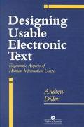 Designing Usable Electronic Text Ergonomic Aspects of Human Information Usage