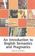 Introduction to English Semantics And Pragmatics
