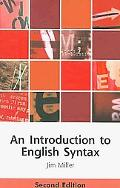 An Introduction to English Syntax: Second Edition (Edinburgh Textbooks on the English Language)