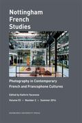 Photography in Contemporary French and Francophone Cultures