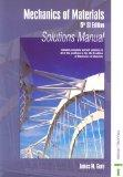 Mechanics of Materials - 5th SI Ed - Solutions Manual NO US RIGHTS