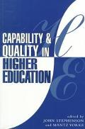 Capability and Quality in Higher Education