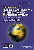 Directory of International Direct and E-Marketing A Country-By-Country Sourcebook of Provide...