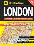 London :Street by Street Extended Coverage of the Capital