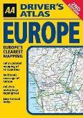 Das Gro�e Europa-Panorama. Poster-Karte