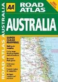 AA Road Atlas Australia (AA Road Atlases)