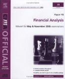 CIMA Study System 05: Financial Analysis: For May and November 2005 Exams (Cima Study System...